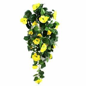 Umelá úponka Petúnia žltá 80 cm