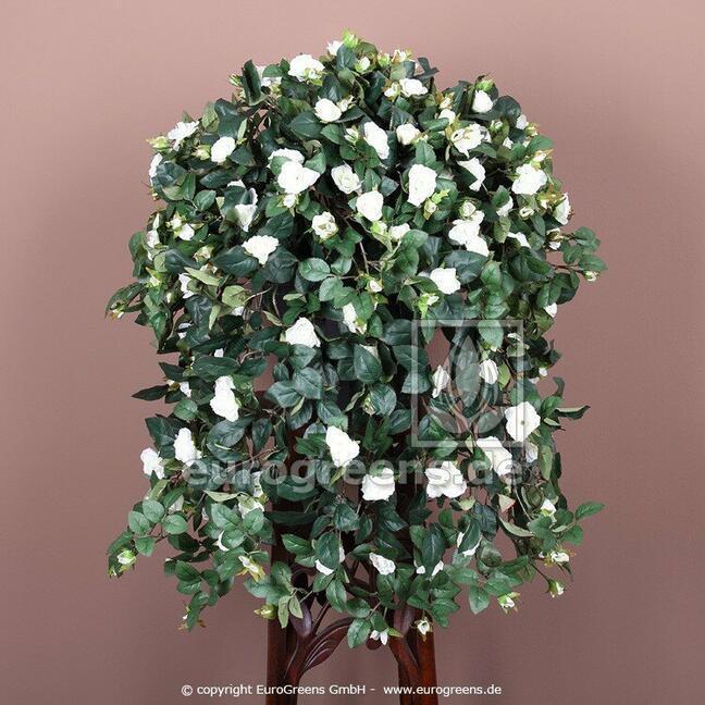 Umelá úponka Ruža biela 70 cm
