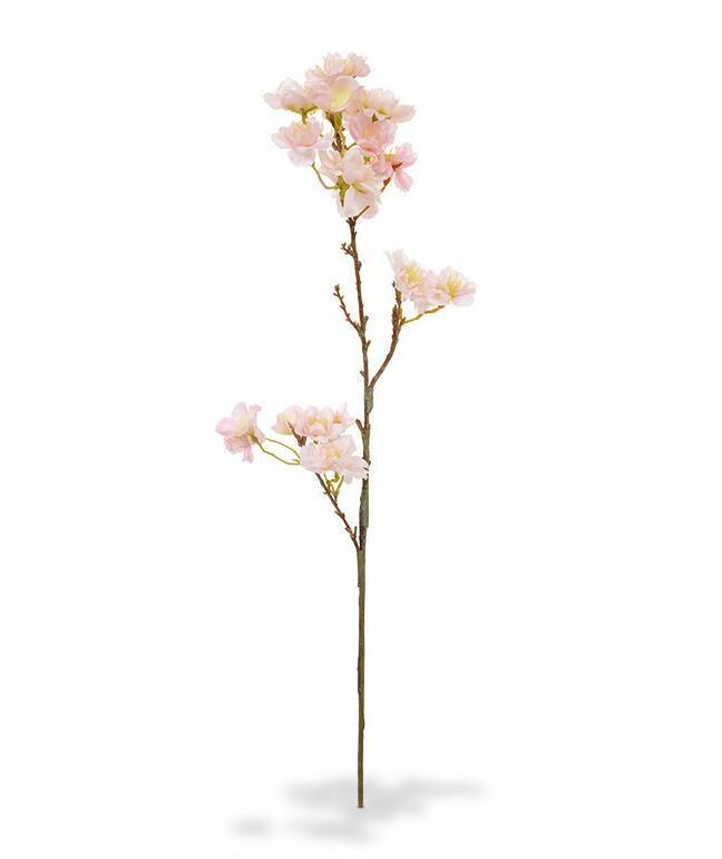 Umelá vetva Čerešňa ružová 60 cm