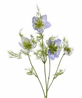 Umelá vetva Černuška modrá 55 cm