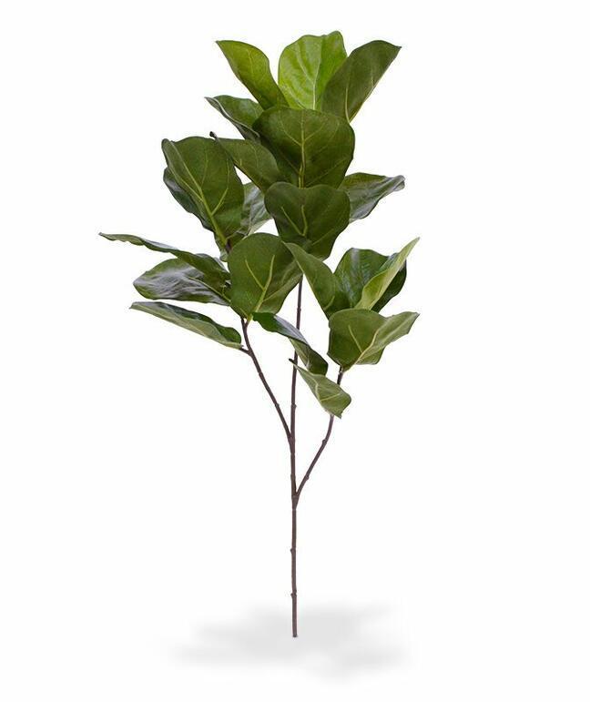 Umelá vetva Figovník lýrovitolistý 70 cm