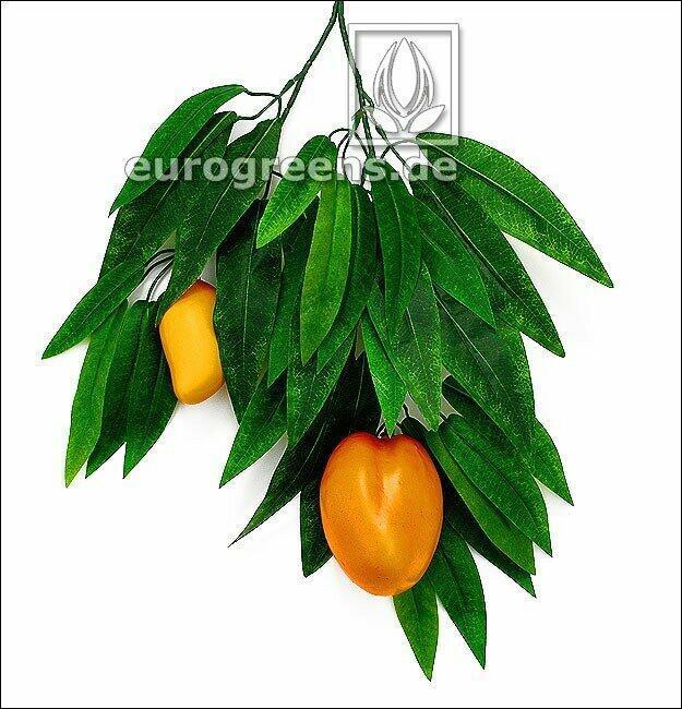 Umelá vetva Mango s plodmi