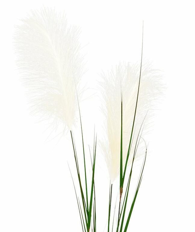 Umelá vetva Pampová tráva krémová 120 cm