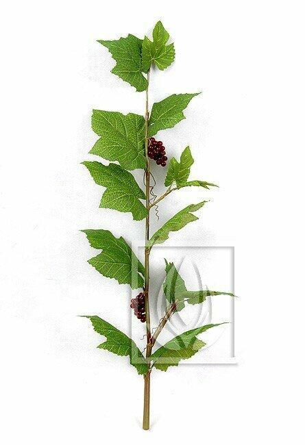 Umelá vetva Vinič hroznorodý 80 cm