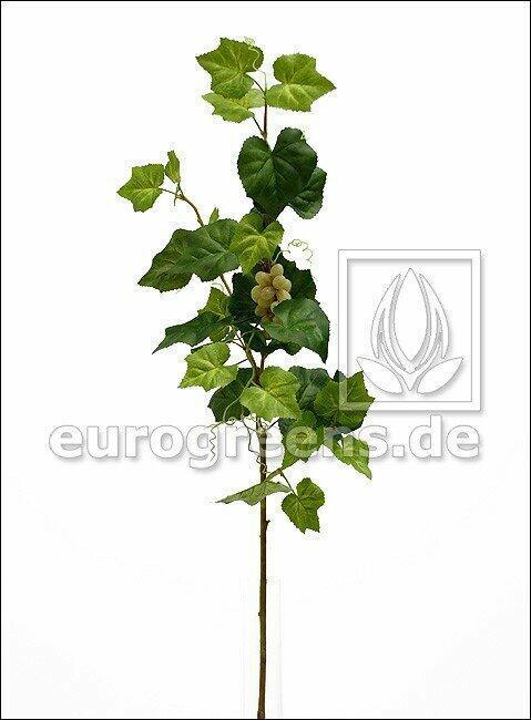 Umelá vetva Vinič hroznorodý s plodmi 95 cm