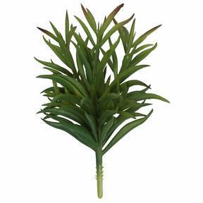 Umelá vetvička Dianthus zelená 17,5 cm