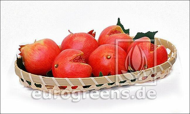 Umelé Granátové jablko červené