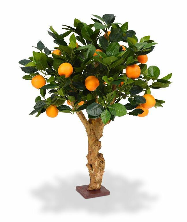 Umelý bonsai Citrónovník pomarančový 65 cm