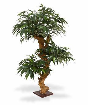 Umelý bonsai Shirakashi 80 x 50 cm