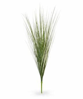 Umelý krémovo-zelený zapichovací zväzok trávy Smlz 85 cm