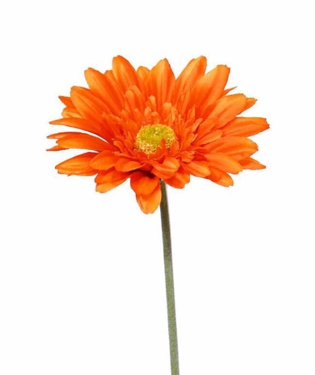 Umelý kvet Gerbera oranžová 60 cm