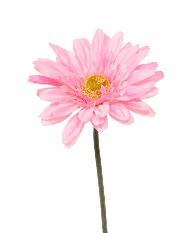Umelý kvet Gerbera ružový 60 cm