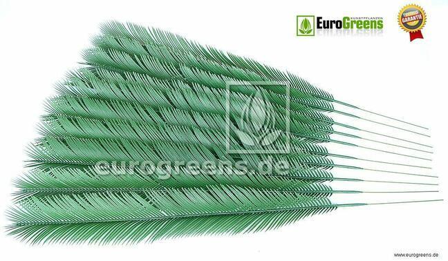 Umelý list palma Cycas 105 cm