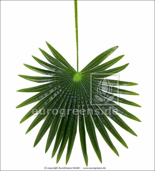 Umelý list palma Livistona 90 cm