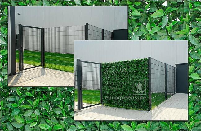 Umelý listnatý panel Višňa - 50x50cm
