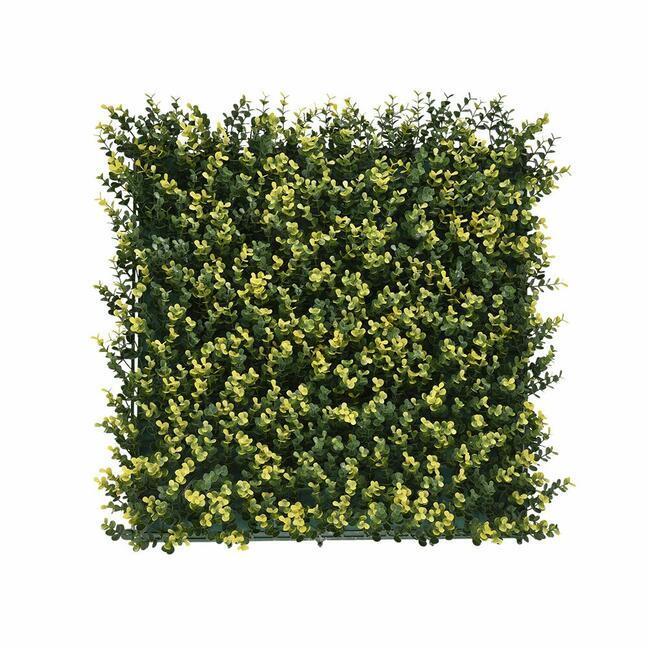 Umelý panel Buxus - 50x50 cm