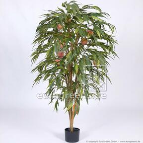 Umelý strom Broskyňa s plodmi 160 cm
