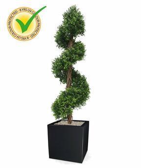 Umelý strom Buxus špirálový 170 cm