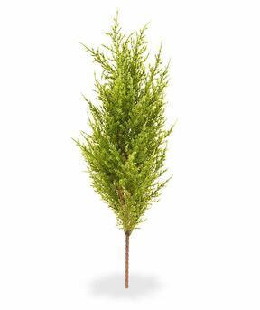 Umelý strom Cypruštek tujovitý zeleno-žltý 56 cm