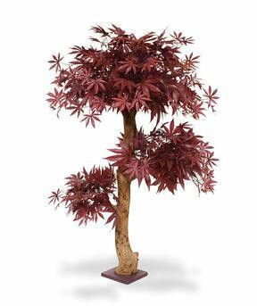 Umelý strom Javor burgundy 95 cm