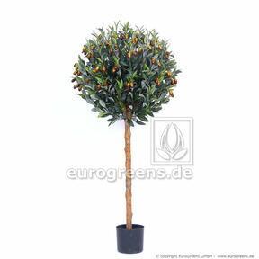 Umelý strom Olivovník guľatý 120 cm