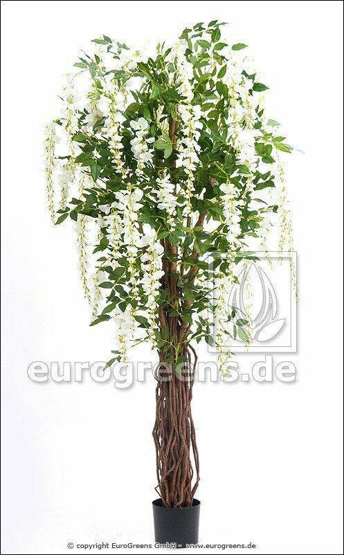 Umelý strom Vistéria biela 180 cm