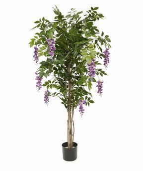 Umelý strom Vistéria fialová 150 cm