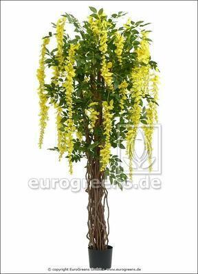 Umelý strom Vistéria žltá 180 cm