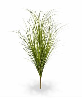 Umelý svetlo-zelený zapichovací zväzok trávy 60 cm