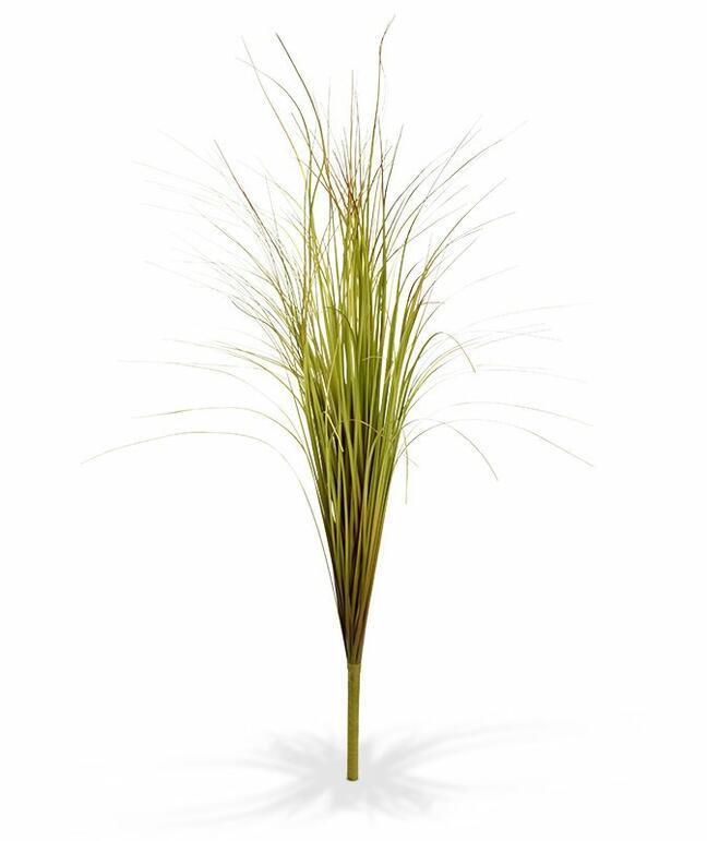 Umelý zeleno-hnedý zapichovací zväzok trávy 80 cm