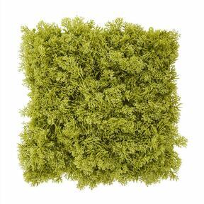 Umelý zelený machový panel - 25x25 cm