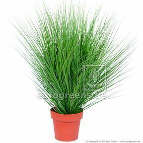 Umelý zväzok trávy Jačmenica piesočná v kvetináči 85 cm