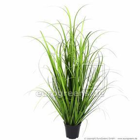 Umelý zväzok trávy Miskant obrovský v kvetináči 100 cm