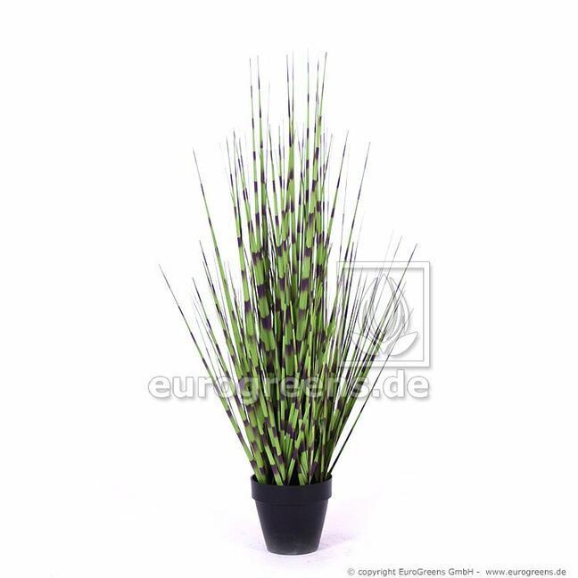 Umelý zväzok trávy Ozdobnica čínska v kvetináči 70 cm
