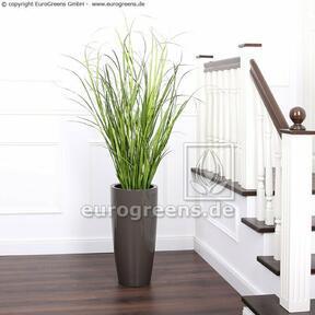 Umelý zväzok trávy Trsť obyčajná v kvetináči 130 cm