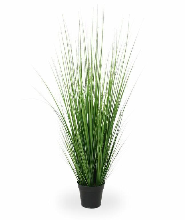 Umelý zväzok trávy v kvetináči 100 cm