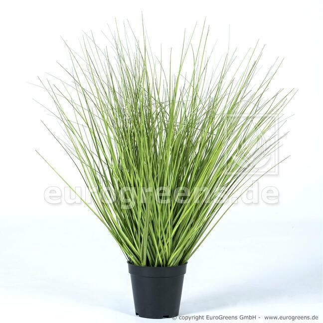 Umelý zväzok trávy v kvetináči 65 cm